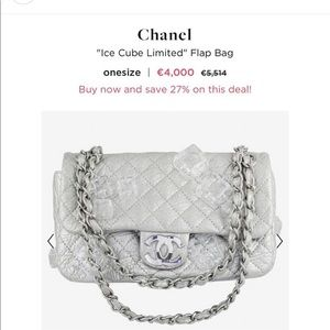Chanel Ice Cube Limited